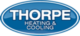 air conditioning icon thorpe heating and cooling logo
